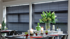blackout venetian blinds for restaurants