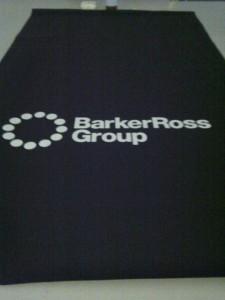 logo on printed blinds