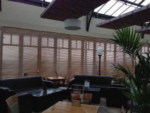 verticle blinds for restaurants