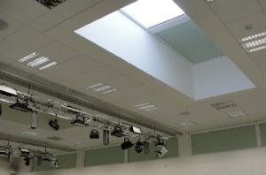 ceiling blinds