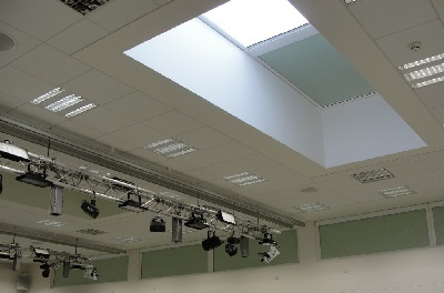 Motorised roof Blinds